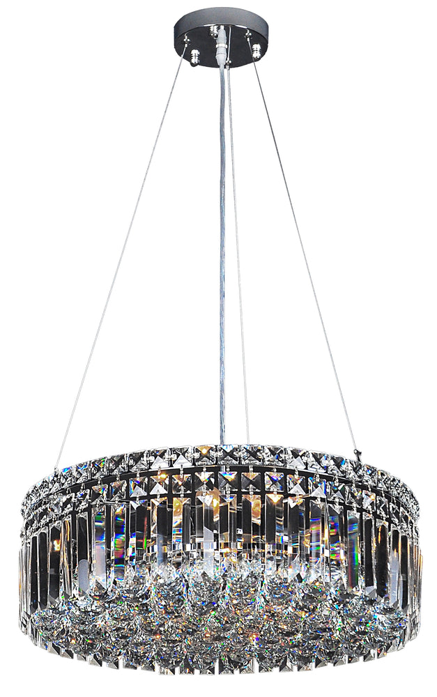 LIGHTING INSPIRATION ROTONDO PENDANT LARGE 50cm 6LT Chrome