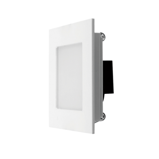 SAL Broom S9311 3W LED Recessed Square Wall Light
