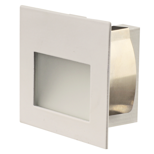 SAL LEEMAN MINI S9319 1.5W LED Recessed MINI Square Profile Wall Luminaire