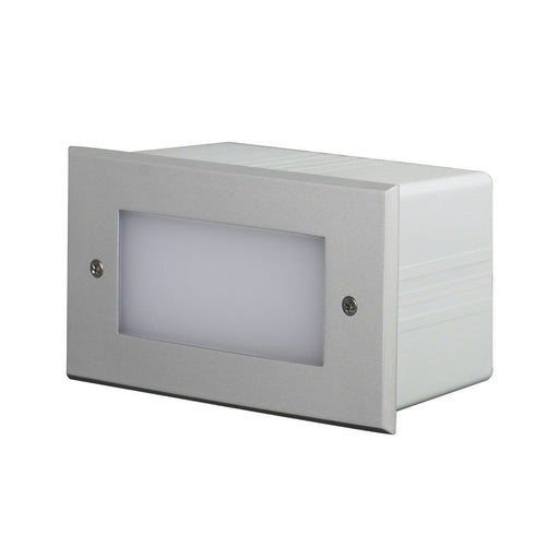 SAL IP65 WEATHERPROOF RECESSED LED WALL LIGHT PLAIN SE7142