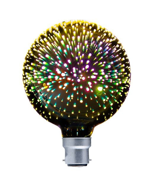 CLA SPECTRA LED Firework Effect Decorative Globes