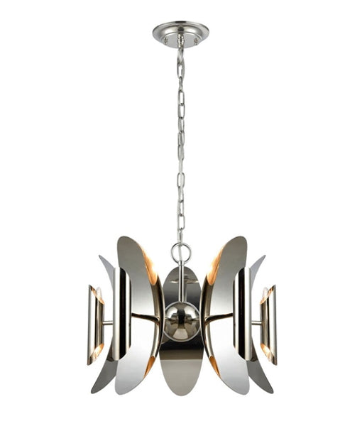 CLA STRATO Polished Nickel Hardware with Stainless Steel Pendant Light