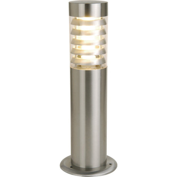 Sunny Lighting Swan Bollard Light in Stainless Steel