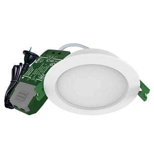 SAL TRADER S9141TC 9W Tri-Colour Dimmable IP44 LED Downlight