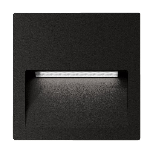 Domus ZAC-4 4W Square Recessed LED Wall Light IP65 240V