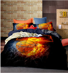 Sports Duvet Cover Sets (Baseball, Basket Ball, Soccer & Football)