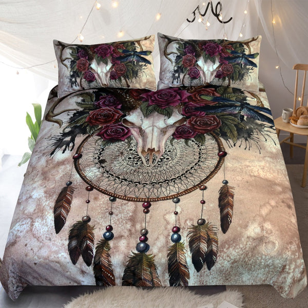 Skull Dreamcatcher Duvet Set
