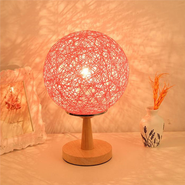 Twine Sepak Takraw Bed Side Lamp