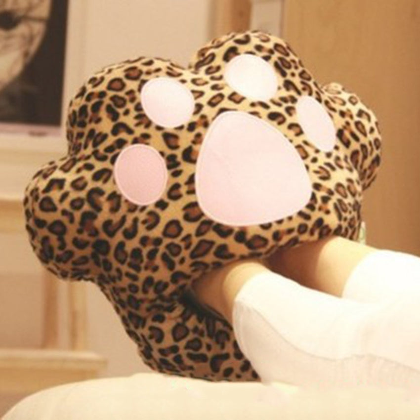 Leopard Print Foot Warmer