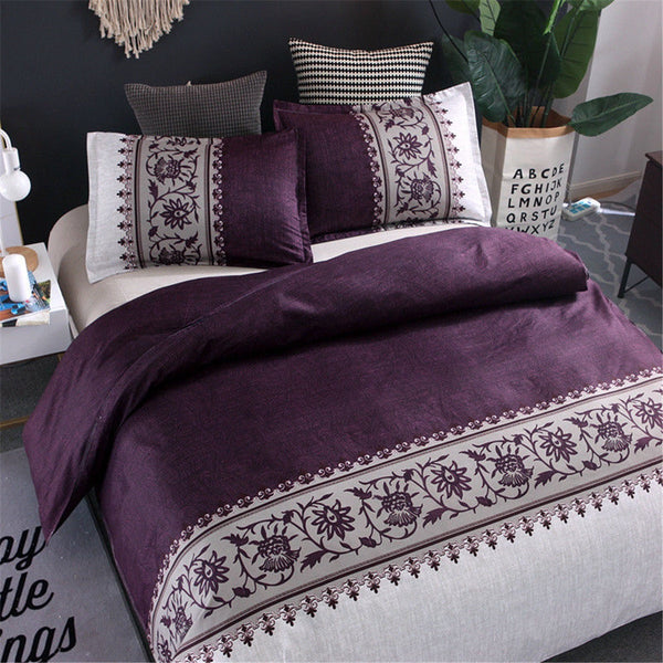 Romantic Floral Duvet Cover Set