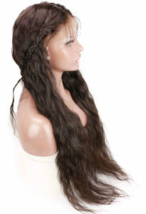 "FULL LACE WIG (28"" - 32"") Pre-Plucked W/ Baby Hair"