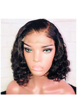 Load image into Gallery viewer, 360 Lace Frontal Curly Unit