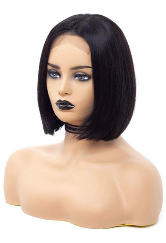 4x4 Bob Cut Lace Front Unit