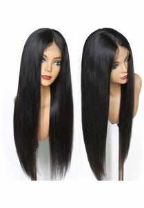 13x6 Silky Straight W/ Baby hair - TheWigZone