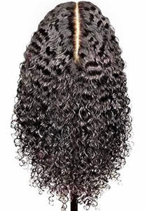 13x6 Deep Part Lace Front Deep Curl Virgin Hair - TheWigZone