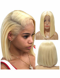 613 Blonde Short Bob - TheWigZone