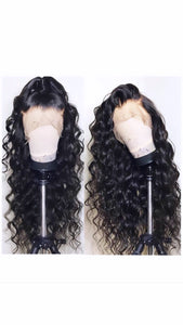 Loose Curly 360 Lace Frontal - TheWigZone