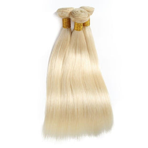 613 Blonde Straight Bundles - TheWigZone