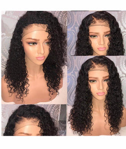Deep Curly Pre Plucked Full Lace Wig - TheWigZone