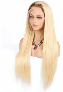 Free Part Virgin #613 w/ #4 Brown Roots Wig - TheWigZone
