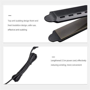 Ceramic Steam Presser Flat Iron For Wet & Dry Hair