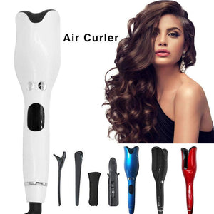 Automatic Rotating Air Curler LCD Digital Display