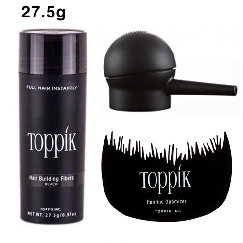 Hair Fibers Keratin Toppik Thickening Spray Hair Building Fibers 27.5g Loss Products Instant Regrowth Powder