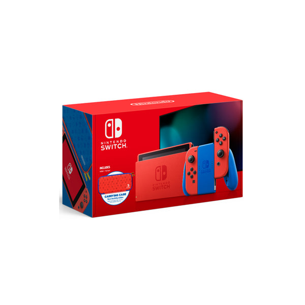 Nintendo Switch, Mario Red & Blue Edition