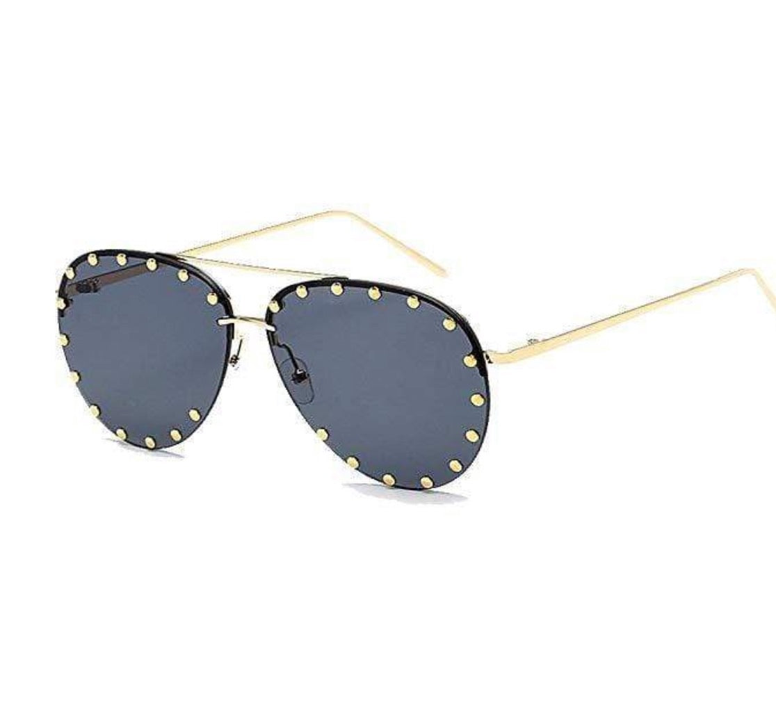 Aviator Oversized Luxury Shades