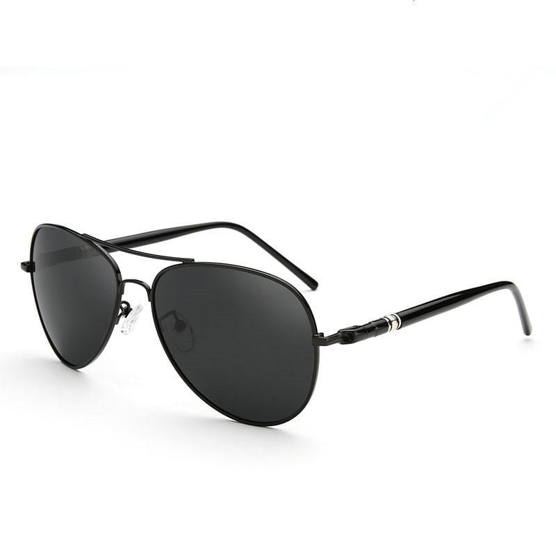Aviator Smoke Polarized Shades