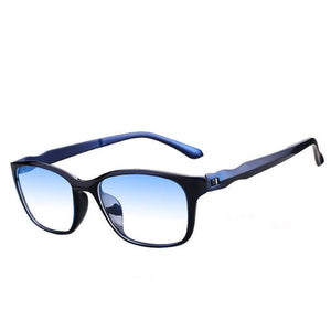 Square Aqua Reading Shades