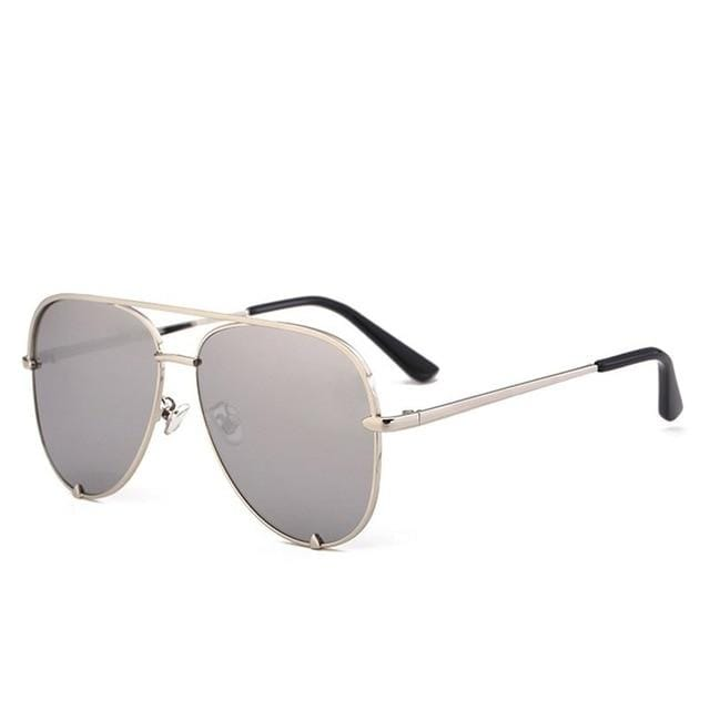 Aviator Polarized Fashion Oversized Shades