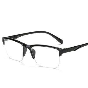Square Half Frame Reading Shades