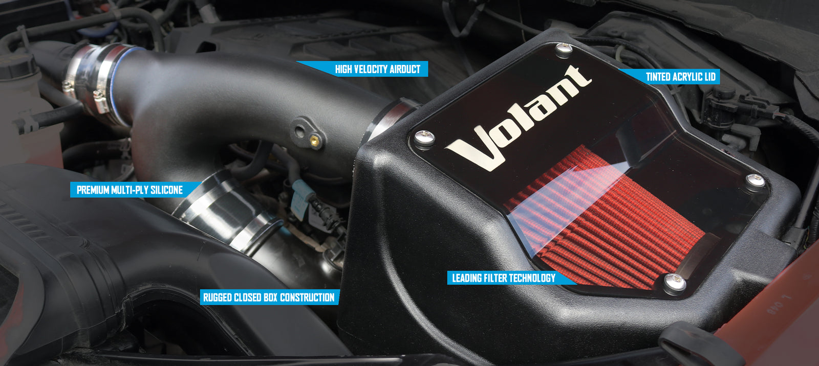 Volant Cold Air Intake >> Volant Performance Cold Air Intakes Trucks Suvs And Cars