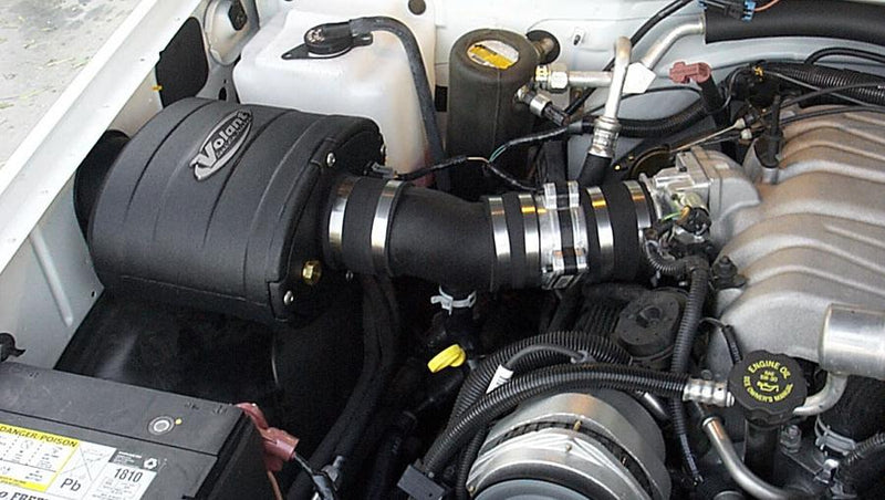 1996-1998 GMC C2500  7.4L V8 Closed Box Air Intake