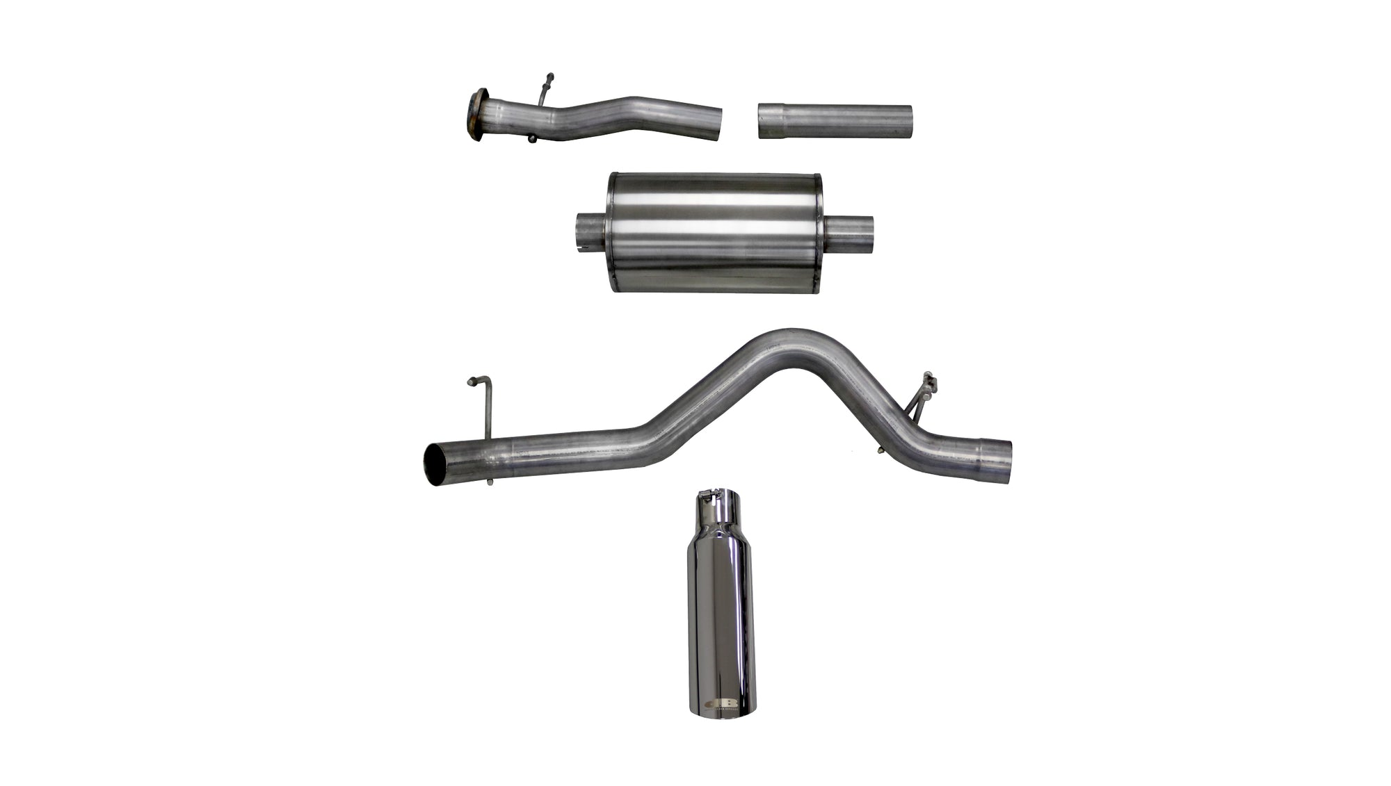2015-2016 GMC Canyon 3.6L V6 Cat-Back Exhaust