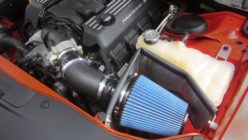 2011-2017 Dodge Challenger SRT 6.4L V8 Metal Shield Cold Air Intake - Open Element - Shielded
