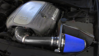 2011-2017 Dodge Challenger R/T 5.7L V8 Metal Shield Cold Air Intake - Open Element - Shielded