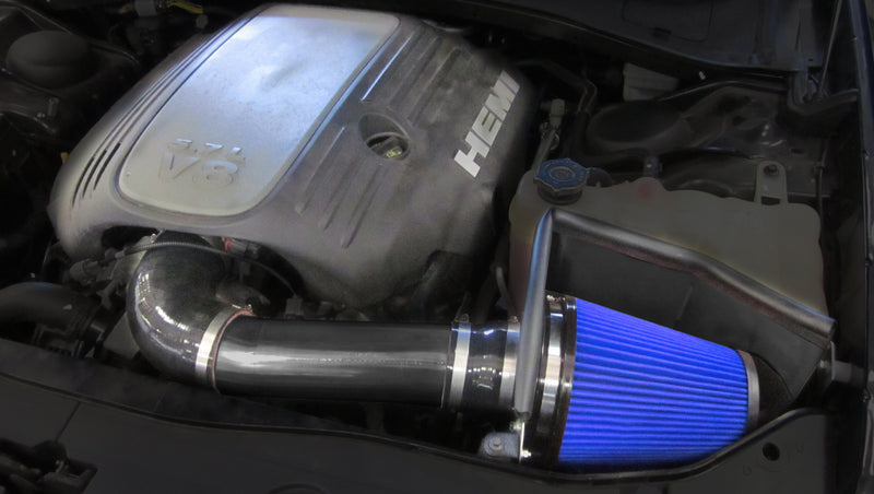2011-2017 Dodge Charger R/T 5.7L V8 Metal Shield Cold Air Intake - Open Element - Shielded