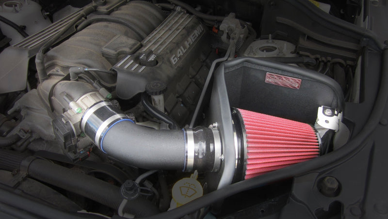 2012-2017 Jeep Grand Cherokee SRT 6.4L V8 Metal Shield Air Intake - Open Element - Shielded 316964D