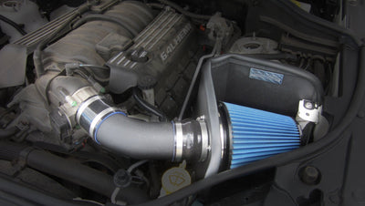 2012-2017 Jeep Grand Cherokee SRT 6.4L V8 Metal Shield Cold Air Intake - Open Element - Shielded