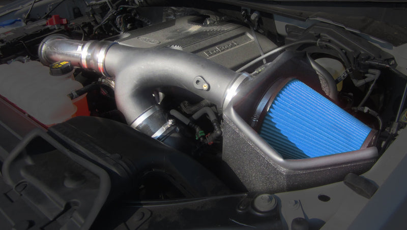 2017-2018 Ford F-150 EcoBoost 3.5L V6 Metal Shield Air Intake - Open Element - Shielded 319735
