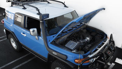 2007-2009 Toyota FJ Cruiser  4.0L V6 Closed Box w/ Snorkel Air Intake 387401