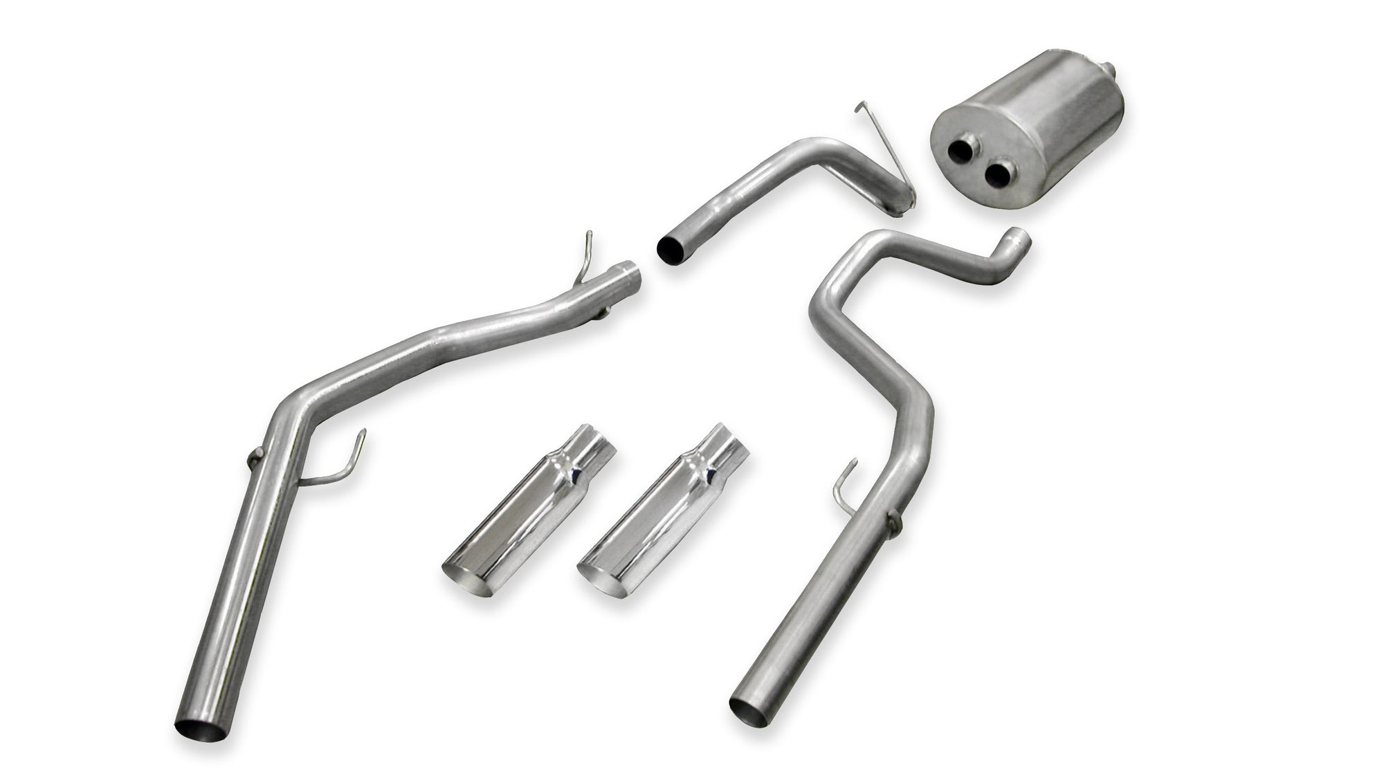2009-2019 Dodge Ram (Classic Body Style) 1500 4.7 or 5.7L V8 Cat-Back Exhaust
