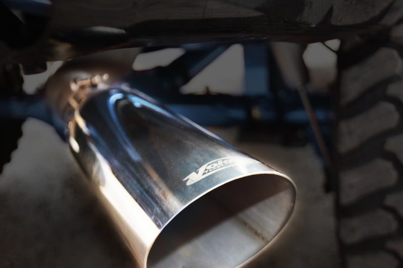2011-2013 GMC Sierra Denali 6.2L V8 Cat-Back Exhaust