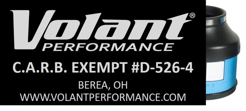 160576 CARB EO Sticker (D-526-4) 2009-2012 Dodge RAM 1500 5.7L V8