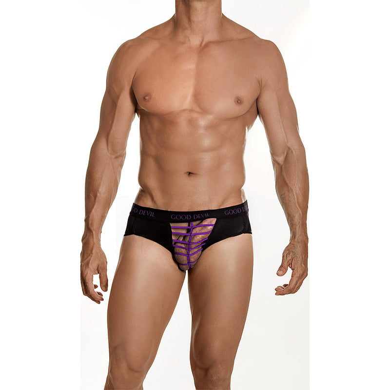 Good Devil GD5005 Front Purple Web Trunk