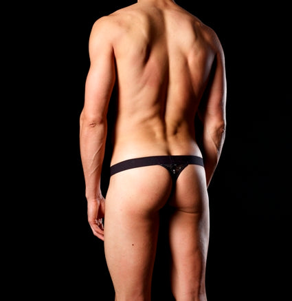 Good Devil GD7008  Sheer Balls Thong