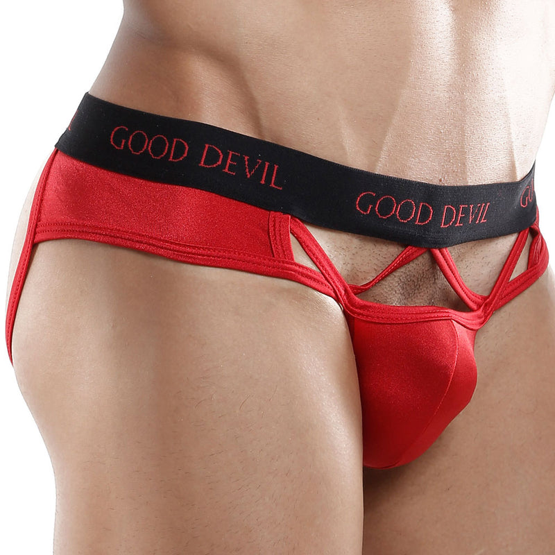 Good Devil GD5015  Flaming Hearts Brief