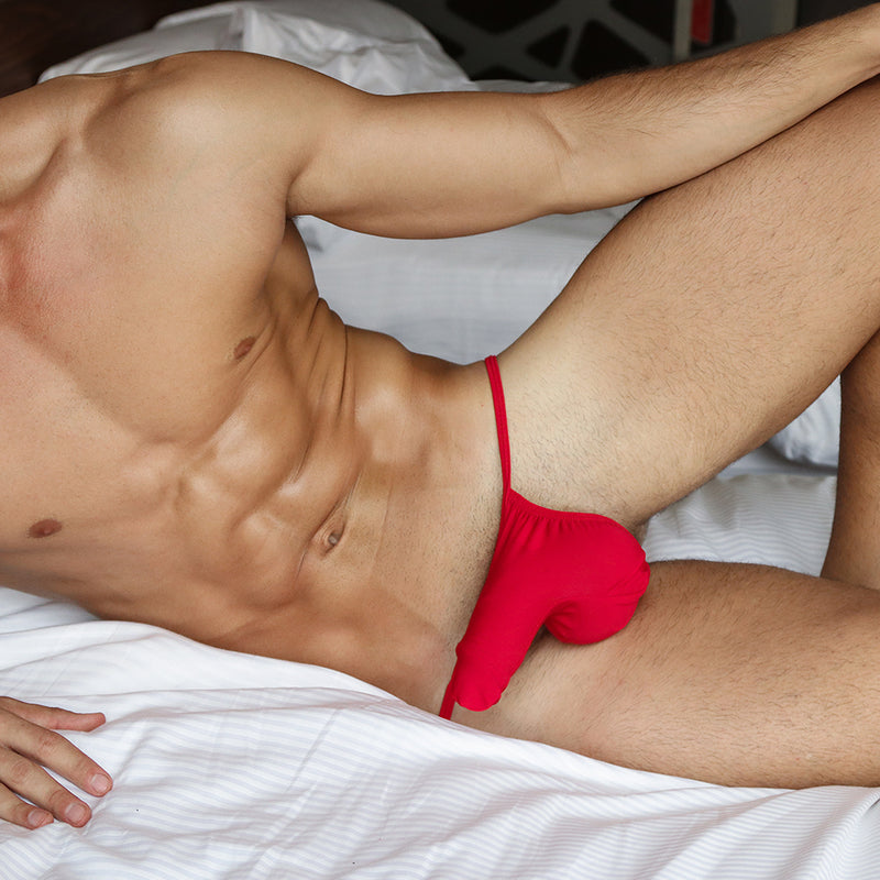 GD8663 Good Devil Cotton Split Back G-String
